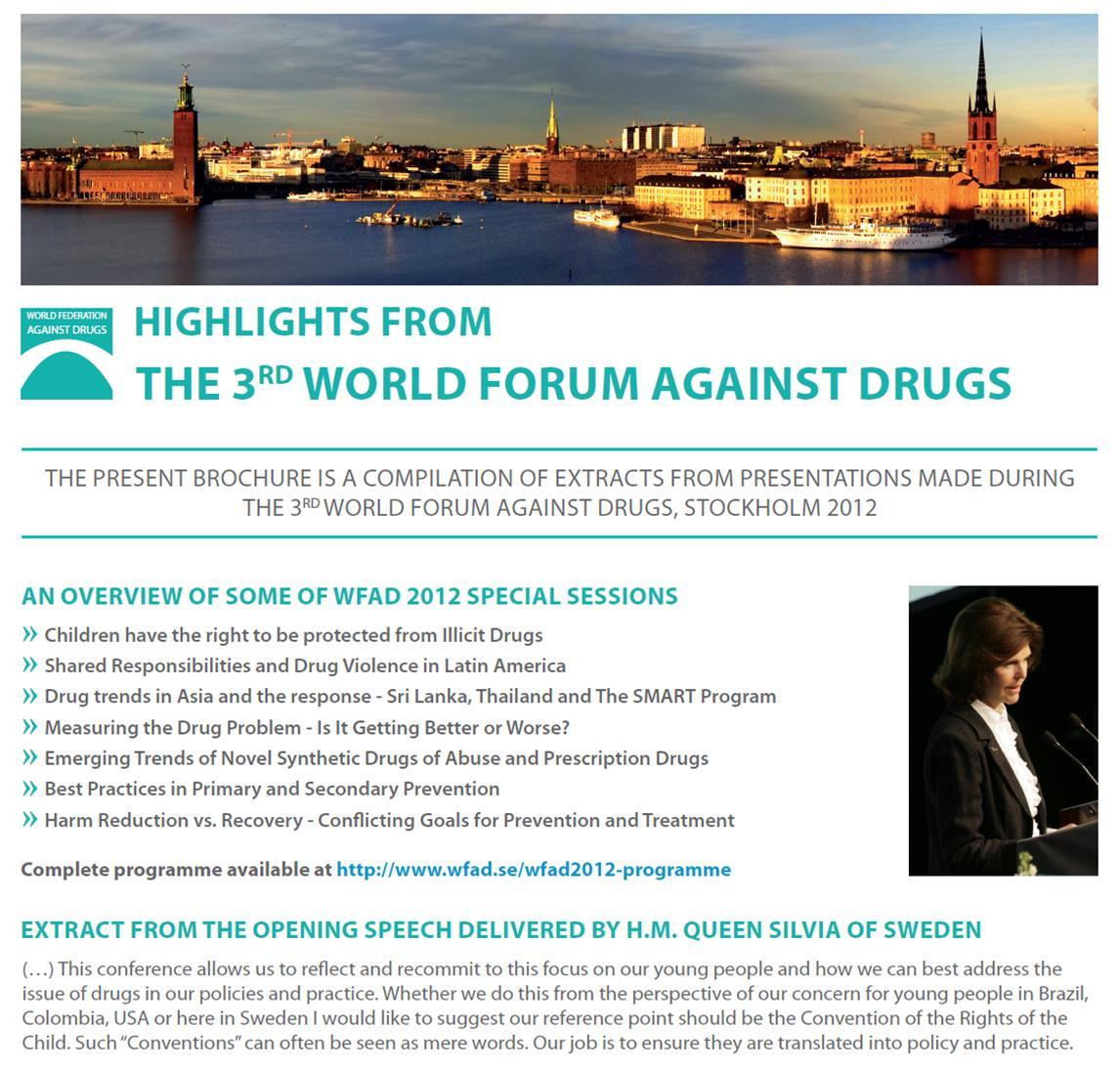 speech against drugs